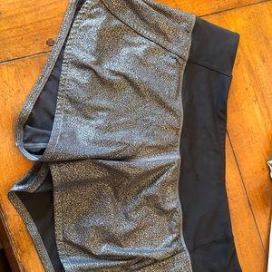 Lululemon run times shorts luminosity foil